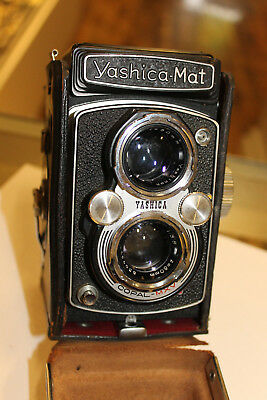 Yashica Mat-124G Medium Format Film Camera