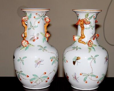 Antique Chinse Porcelain Pair Vases