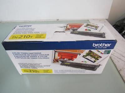Genuine brother TN-210Y Laser Toner Yellow Cartridge High Yield,new,sealed