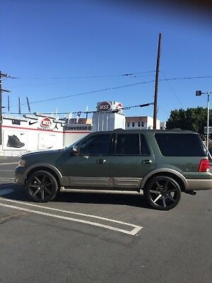 2003 Ford Expedition  2003 ford expedition Eddie Bauer Dubs Green