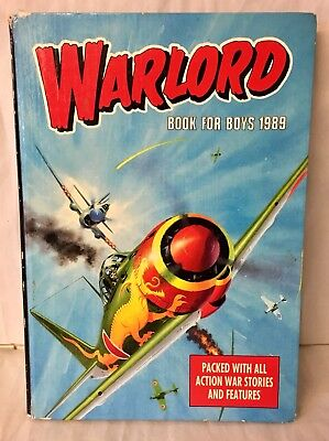 Warlord Annual 1989 Good Condition