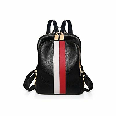 ea6999a2cb Ladies Luxury Leather Bag Backpack Gucci Pattern Tote Handbag Travel Red  White