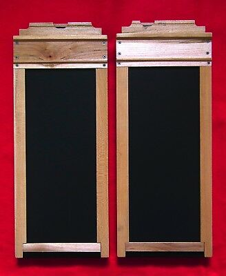 Two 4x10 Film Holders