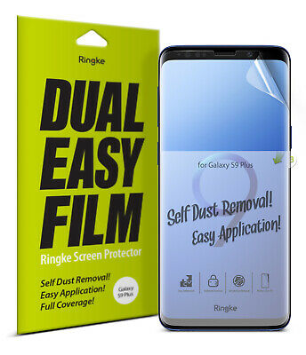 Samsung Galaxy S9 Plus Screen Protector | Ringke [ID Full Coverage] Film [3pcs]