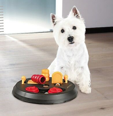 Dog Interactive Toy Puzzle Pet Activity Flip Board Food Treat Dogs Tough Play