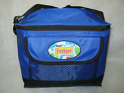 """Friskies Lunch Bag (NWO) """"I-COOL"""" Insulated + Collector's """"Whiskas"""" Can"""