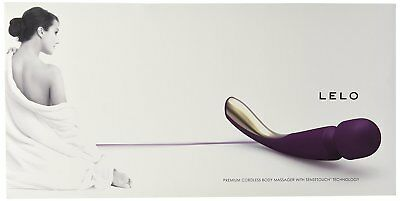 LELO SMART WAND Plum Full Body Massager  (Foot massager, back, neck.) NEW IN BOX