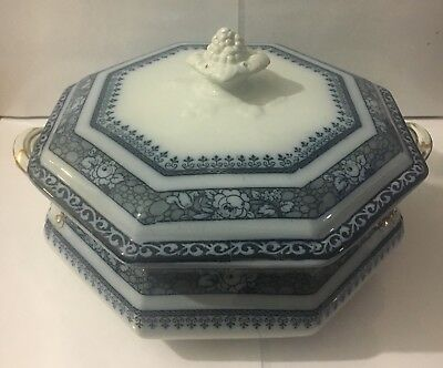 Keeling & Co Ltd Staffordshire Losol Ware ORMANDE Tureen With Lid c1936