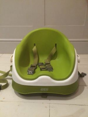 Mamas and papas baby bud booster seat green.