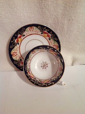 Antique Vintage Melba Bone China England 2838 Cup And Saucer