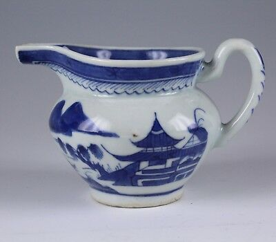 Chinese Export Blue White Porcelain Cream Jug No Reserve