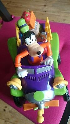 Goofy in car with sounds plus choo choo train that makes sounds