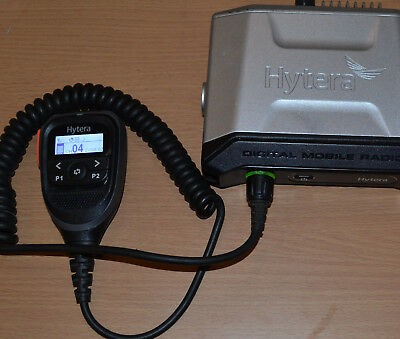 Hytera MD655G (GPS) UHF DMR Mobile Transceiver With PC47 Programming Lead