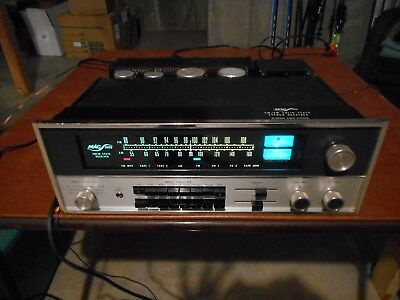 Vintage McIntosh MAC-1900 Stereo Receiver 55 Watts 4 or 8 ohms Nice Sound & Cond