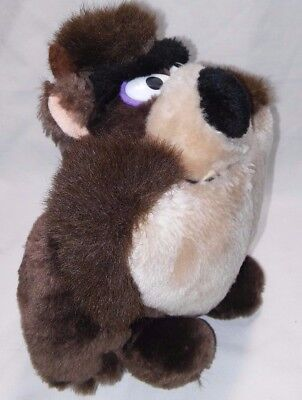 "1993 Warner Bros. 8"" Plush Tasmanian Devil Taz - VGC"