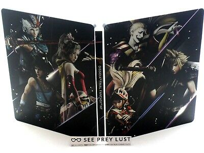 Dissidia Final Fantasy Nt Brawler Collector's Steelbook Ps4 Cloud Kefka -No Game