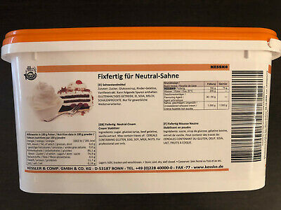 Sahnestand neutral (500 – 1000 g) Sahnefond neutral