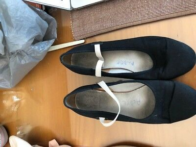 Black Character Shoes Size 6