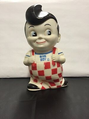 Vintage Big Boy Rubber Bank Classic Check Colors---Red White