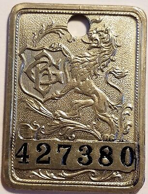 Gimbel Bros. Store New York, NY Philadelphia, PA Charge Plate Fob Coin Token