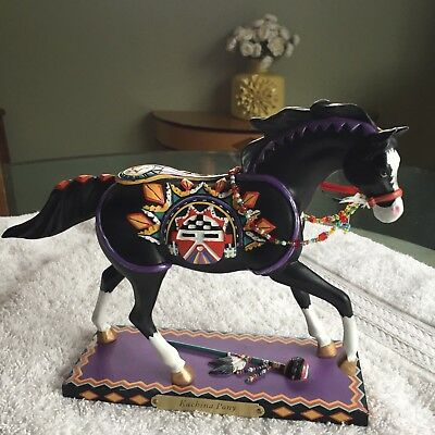"""The Trail of Painted Ponies, """"Kachina Pony"""" by Maria Ryan #2E/8784 (resin) WOW!"""