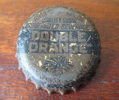 Vintage DOUBLE Orange Soda Cork Bottle Cap, South Carolina Tax