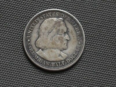 Vintage 1492-1892 Columbian Half Dollar - A Really Nice Commemorative Coin!!