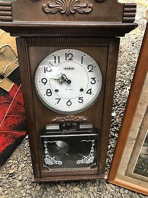 Wall Mount Grandfather Clock