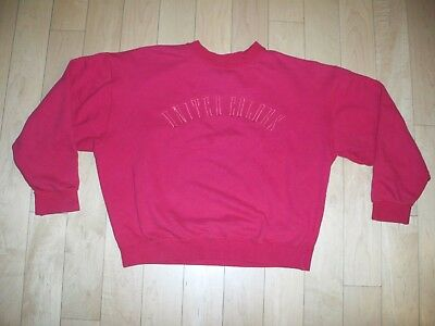 Vintage 80s United Colors of Benetton Spell Out Sweatshirt Sz M