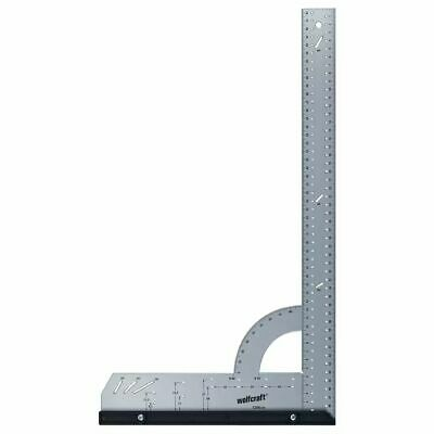 wolfcraft Universal Square 500mm Angle Measuring Scale 90°Ruler Tool 5206000