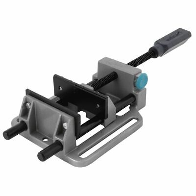 wolfcraft Die-cast Aluminium 100mm Quick Action Vise Mechanical Drill 3410000