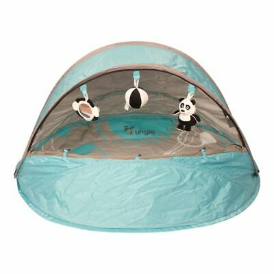 Bo Jungle Baby Kids B-Play Nest/Pop-up Bed with Mosquito Net Turquoise B300110
