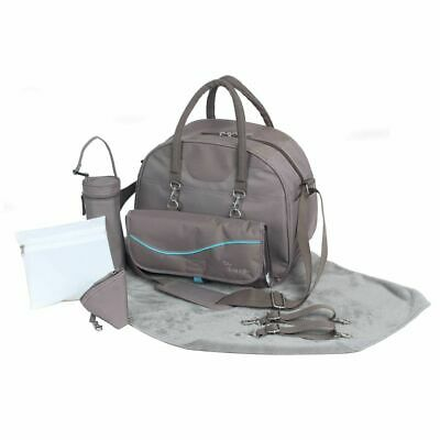 Bo Jungle B-City Baby Nursery Changing Nappy Mommy Diaper Bag Taupe B300310