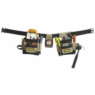 Toolpack Double-Pouch Tool Belt Classic 360.056 25 Storage Option Adjustable