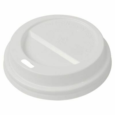 vidaXL 1000x Lids for Disposable Coffee Cups Plastic 80mm Cover Warm Keeper