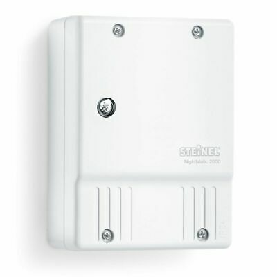 Photoelectric Lighting Controller NightMatic 2000 Twilight Switch White