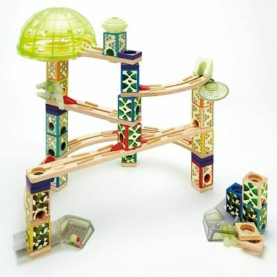 Hape Space City Marble Run E6017 Track Set Toddler Child Age 3+ Years Wood