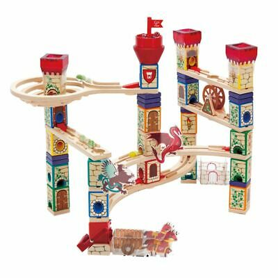 Hape Medieval Quest Play Marble Run Children Kids Baby Building Toy Wooden E6018