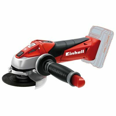 Einhell Cordless Angle Grinder TE-AG 18 Li - Solo Grinding Tool 8500 rpm 18V