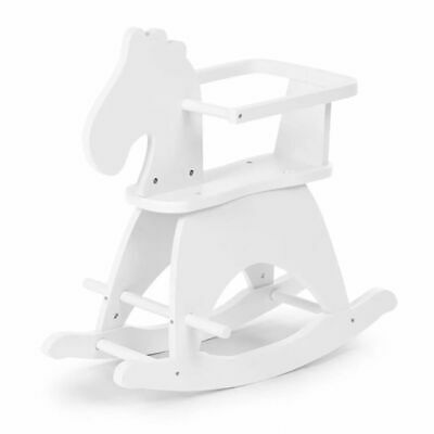 CHILDWOOD Rocking Horse White CWRHW Kids Children Swing Relaxing Play Toy