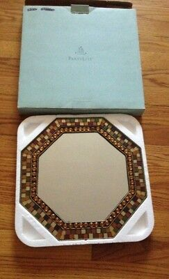 Nib Partylite - Global Fusion Mirrored Candle Tray