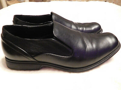 Perry Ellis Portfolio Boys Dress Shoes Black Slip On Loafers Samuel