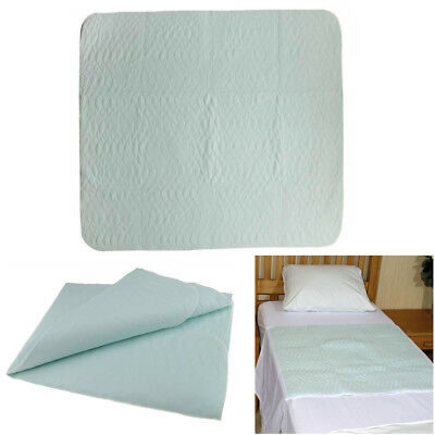Blesiya 2x Washable Reusable Bedwetting Incontinence Bed Pad Absorbent Sheet