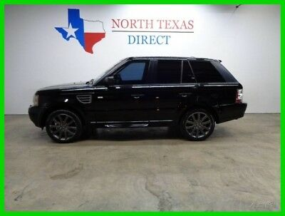 2009 Land Rover Range Rover Sport HSE 4WD GPS Navi Leather Heated Seats Sunroof 2009 HSE 4WD GPS Navi Leather Heated Seats Sunroof Used 4.4L V8 32V Automatic