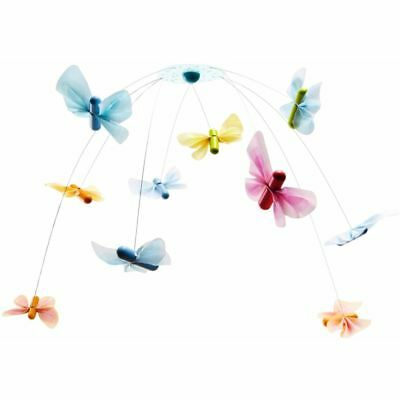 HABA Baby Mobile Butterfly Friends Children Bed Bedtime Fun Hanger Gift 005145