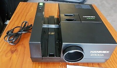 Hanimex 2300A Slide Projector - with Rotary Magazine