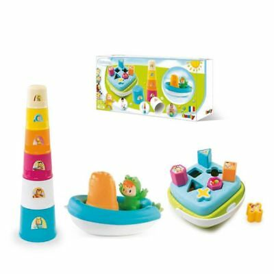 Smoby Cotoons Baby Toddler Activity Play Set Shape Sorter Teaching Toy 110408