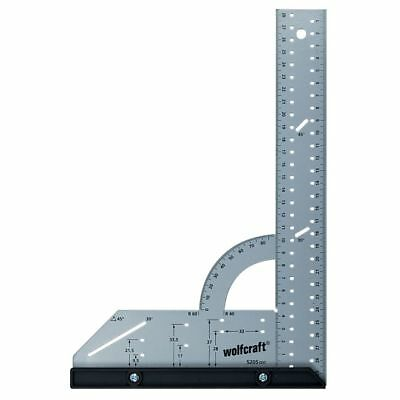 Wolfcraft Universal Square 300 mm Angle Measuring Scale 90°Ruler 5205000