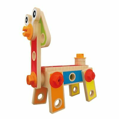 Hape Basic Builder Set E3080 42 Parts Age 3 Years+ Child Toddler Wooden Toy