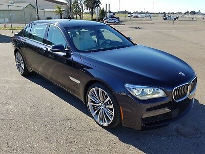 2015 BMW 7-Series 750Li Sedan 4-Door 2015 BMW 750Li, ONLY 4K MI, M PKG, BANG & OLUFSEN, HETED & COOLED SEATS!